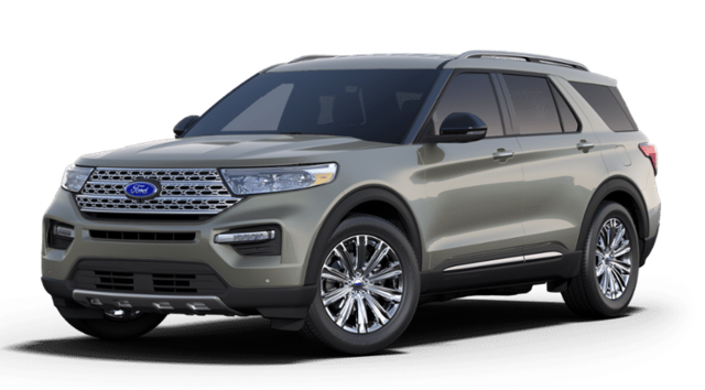 2020 Ford Explorer Limited FWD SUV